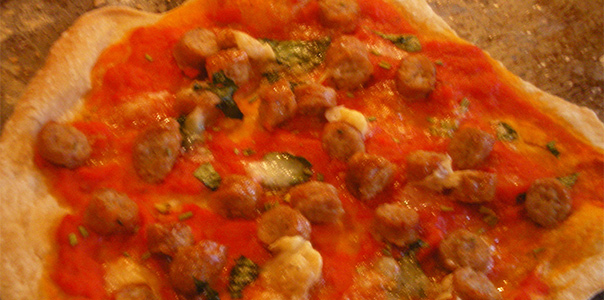 Rare Breed Yorkshire Sausage Pizza
