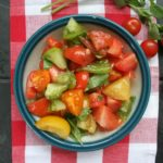 Marinated-tomatoes